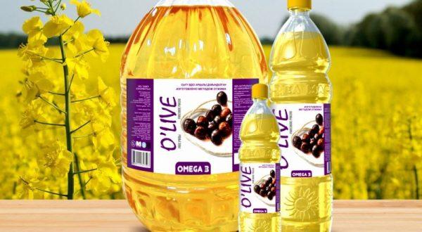 Рапсовое масло более полезное, чем подсолнечное. Фото tengrinews.kz