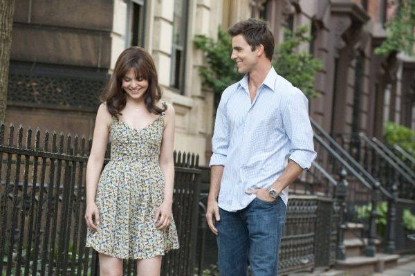 девушка с парнем на улице