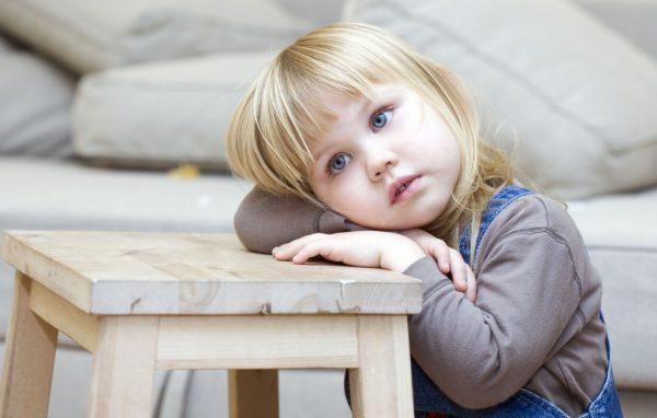 спокойный ребенок