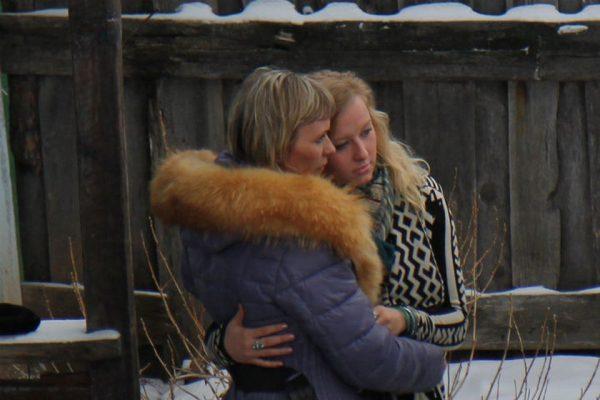 Джессика Лонг с мамой