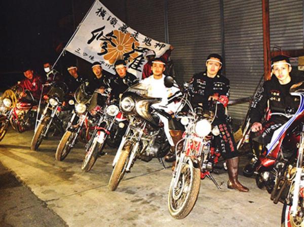 Японские байкеры