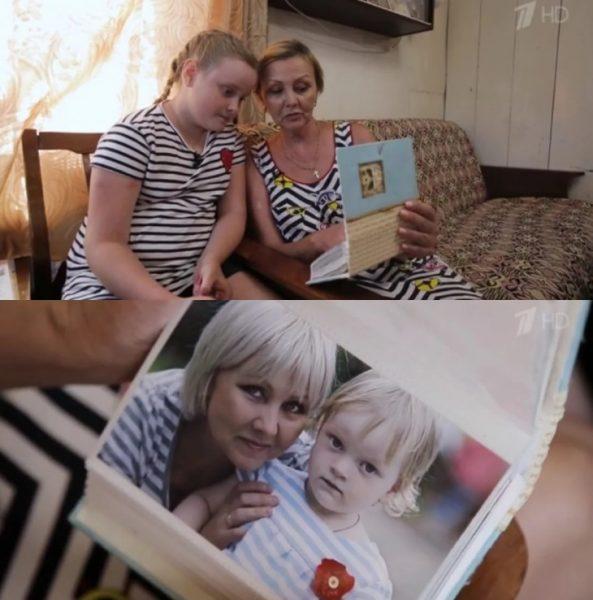 Татьяна Сорокина с дочерью Светланой