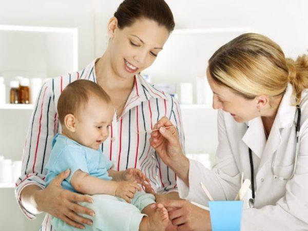 педиатр мама ребенок
