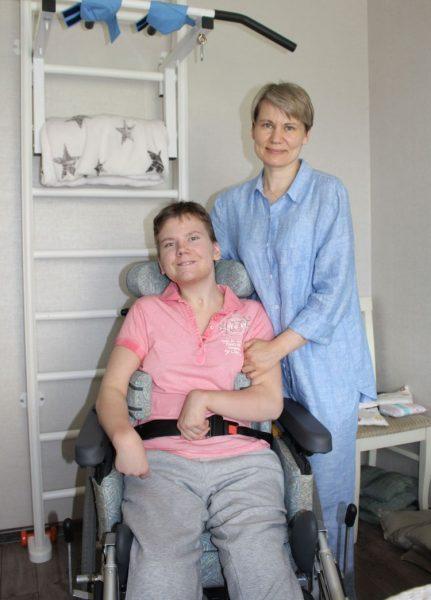 Юля Янкевич и мама