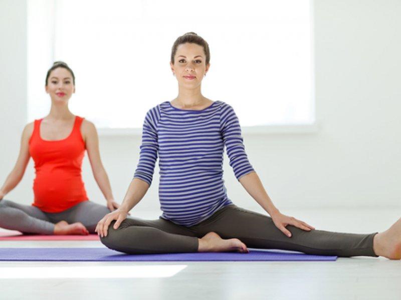 Pilates for pregnant women