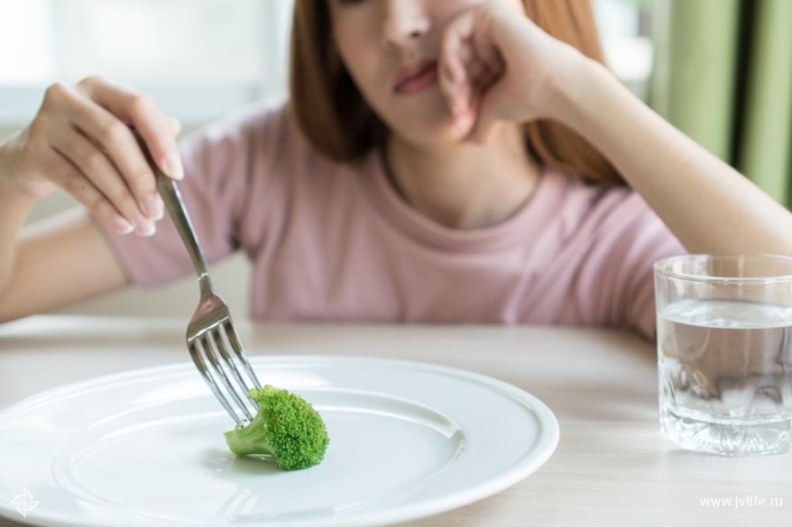 Little girl eats little