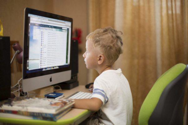 Стационарный компьютер для ребенка. Фото bloggerus.livejournal.com