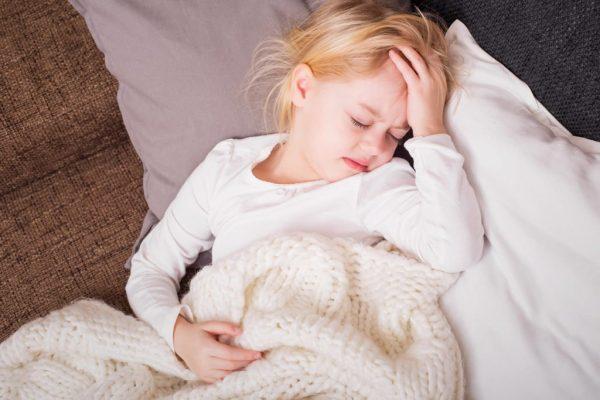ребенок вялый и сонливый