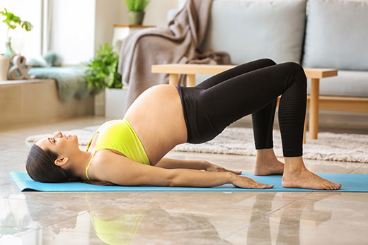 Gymnastics for pregnant women