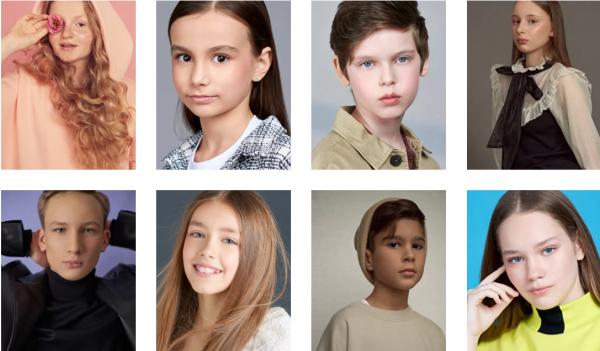 Дети-модели. Фото Обучение в модельной школе. Фото topsecretkids.ru