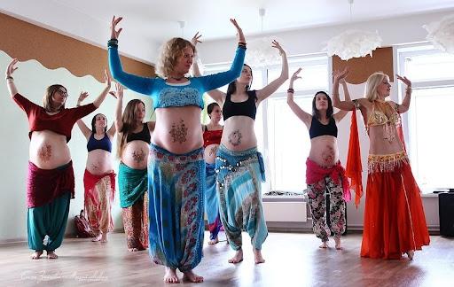 Dancing for pregnant women