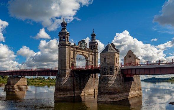 Мост Королевы Луизы через реку Неман