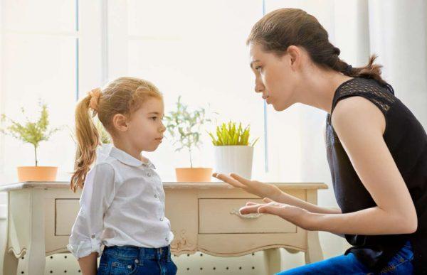разговор ребенка и родителей