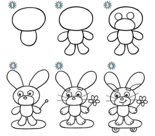 Как научить ребенка рисовать карандашом