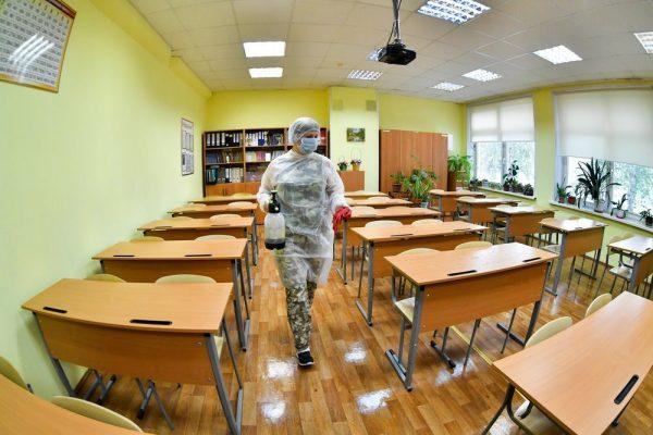 Карантин в школе, фото:tvc.ru