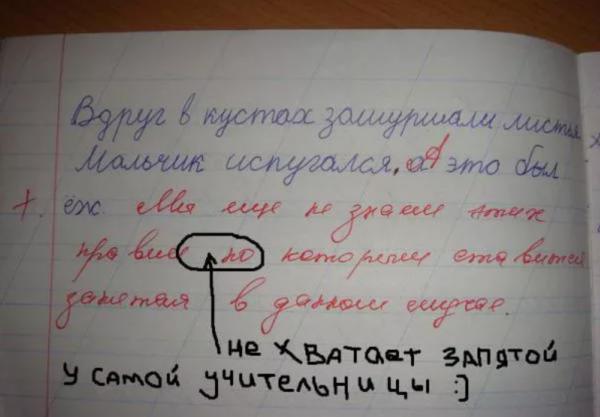 Ошибки учителей, фото:zen.yandex.ru